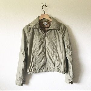 Guess Jeans Zip Harrington Nylon Jacket